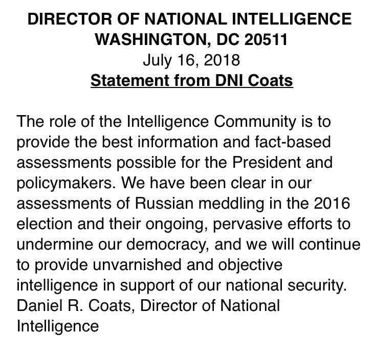 coats statement