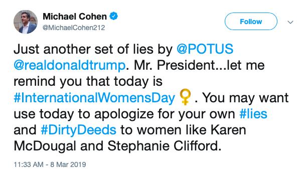 Manafort, Cohen, and